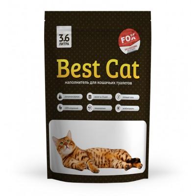 Силикагелевый наполнитель Best Cat для кошачьего туалета White, 3,6 л