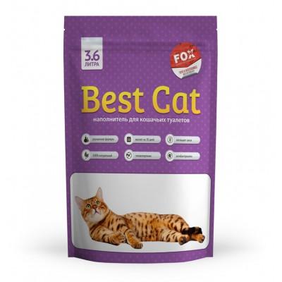 Силикагелевый наполнитель Best Cat для кошачьего туалета Purple Lawender, 3,6 л