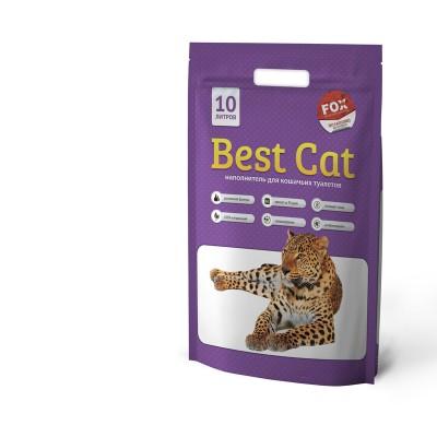 Силикагелевый наполнитель Best Cat для кошачьего туалета Purple Lawanda, 10 л