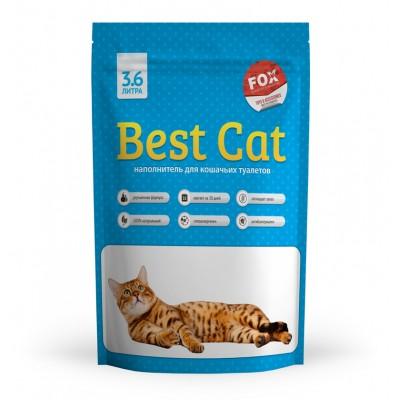 Силикагелевый наполнитель  Best Cat для кошачьего туалета Blue, 3,6 л