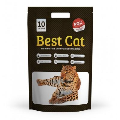 Силикагелевый наполнитель  Best Cat для кошачьего туалета White, 10 л