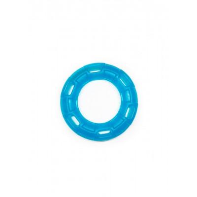 Іграшка для собак FOX кільце з 6 сторонами синя, 12 см (з запахом ванілі)